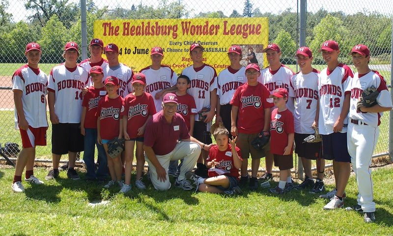 Healdsburg Wonder league 2011 Team Photo